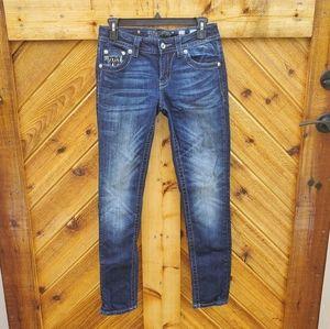 Miss Me EUC Signature Rise Skinny Denim Jeans